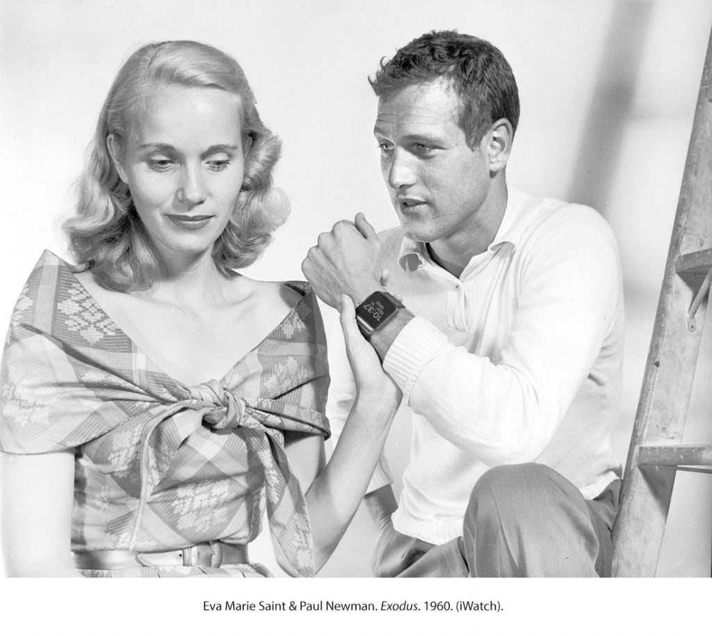 Eva Marie Saint & Paul Newman. Éxodo. 1960 (Apple Watch)
