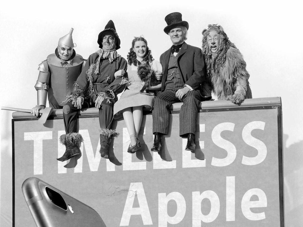 El Mago de Oz . 1939. (Publicidad iPhone 7 Plus)