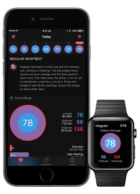 HeartWatch - controla el ritmo cardíaco con el Apple Watch