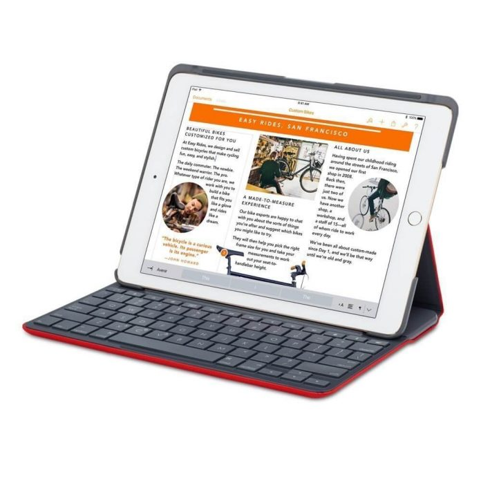 Funda para iPad Air Logitech Canvas