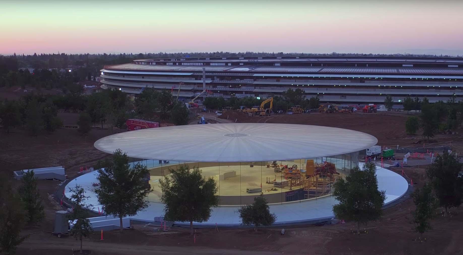 Evolución Apple Park 2017