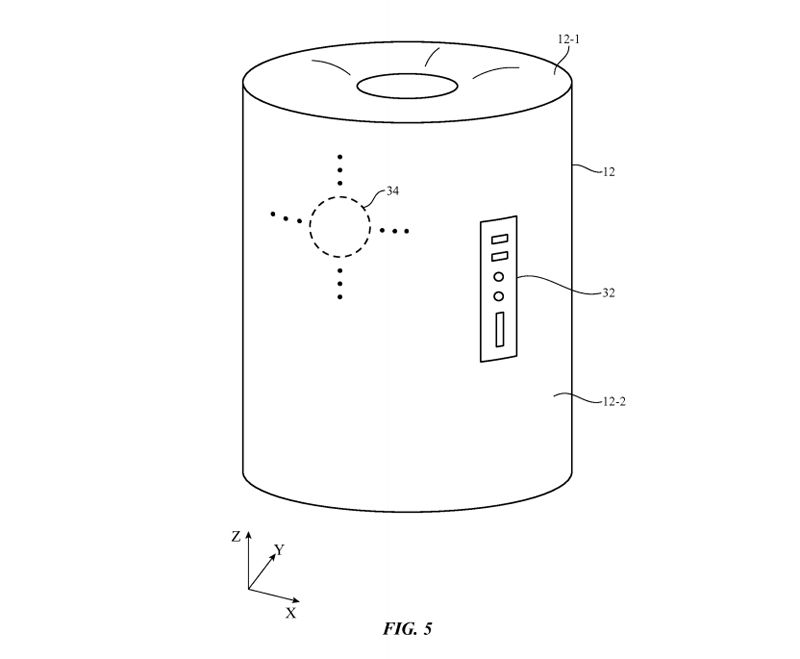 patente apple Siri speaker