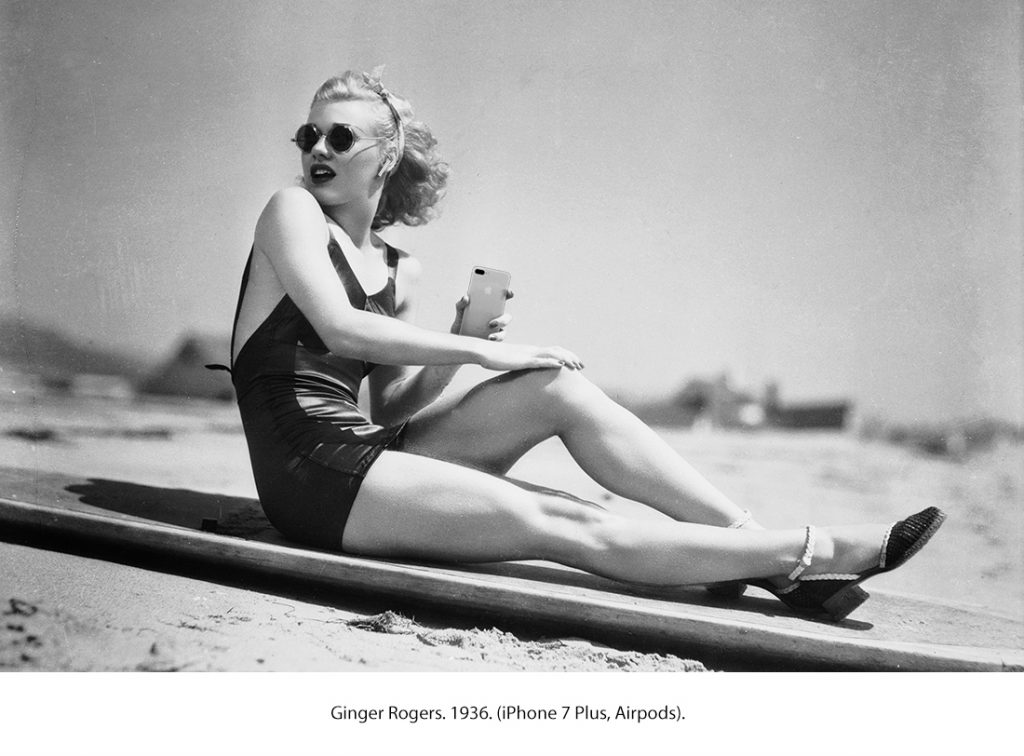 Ginger Rogers. 1936. (iPhone 7 Plus, AirPods)