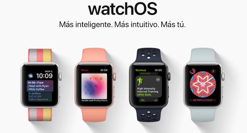 watchOS 4 - más inteligente