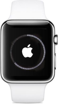 Apple Watch sincronizando