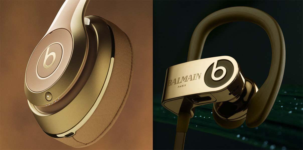 Colección Apple Beats Balmain