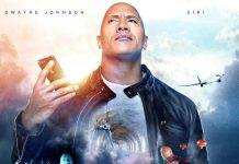 The Rock x siri - película