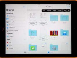 app Files en iOS 11