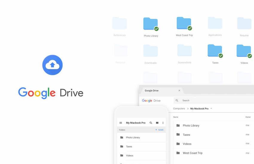 Google Backup & Sync para macOS