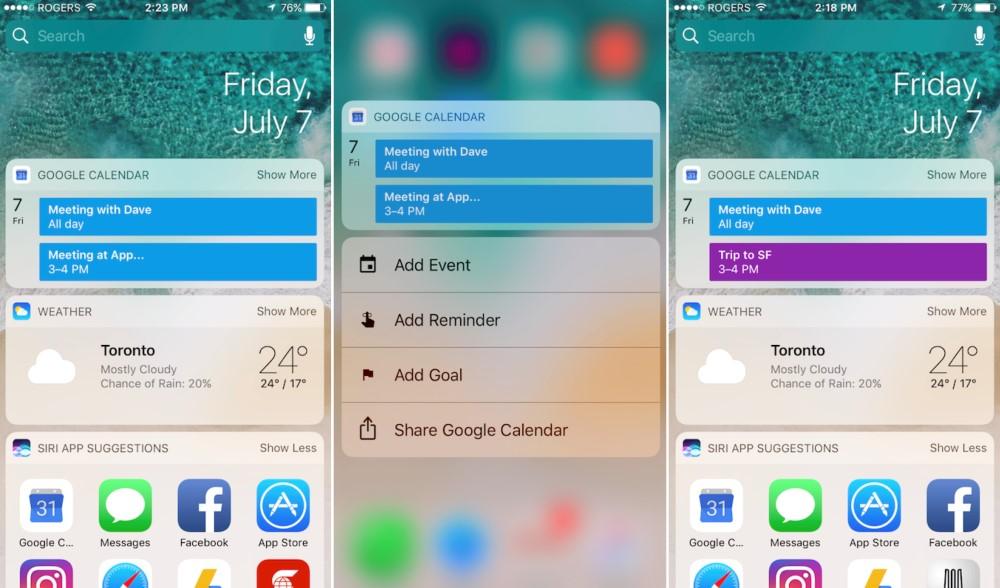 Google Calendar para iOS y iPad