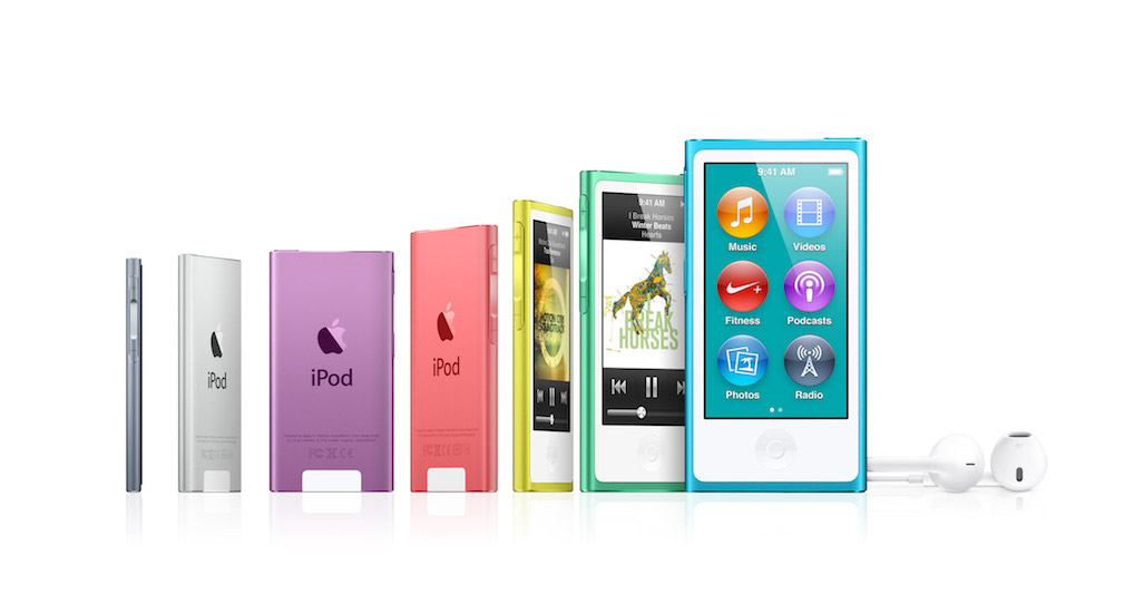 iPod Nano descatalogado