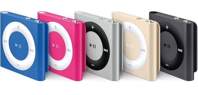 iPod Shuffle 4G descatalogado
