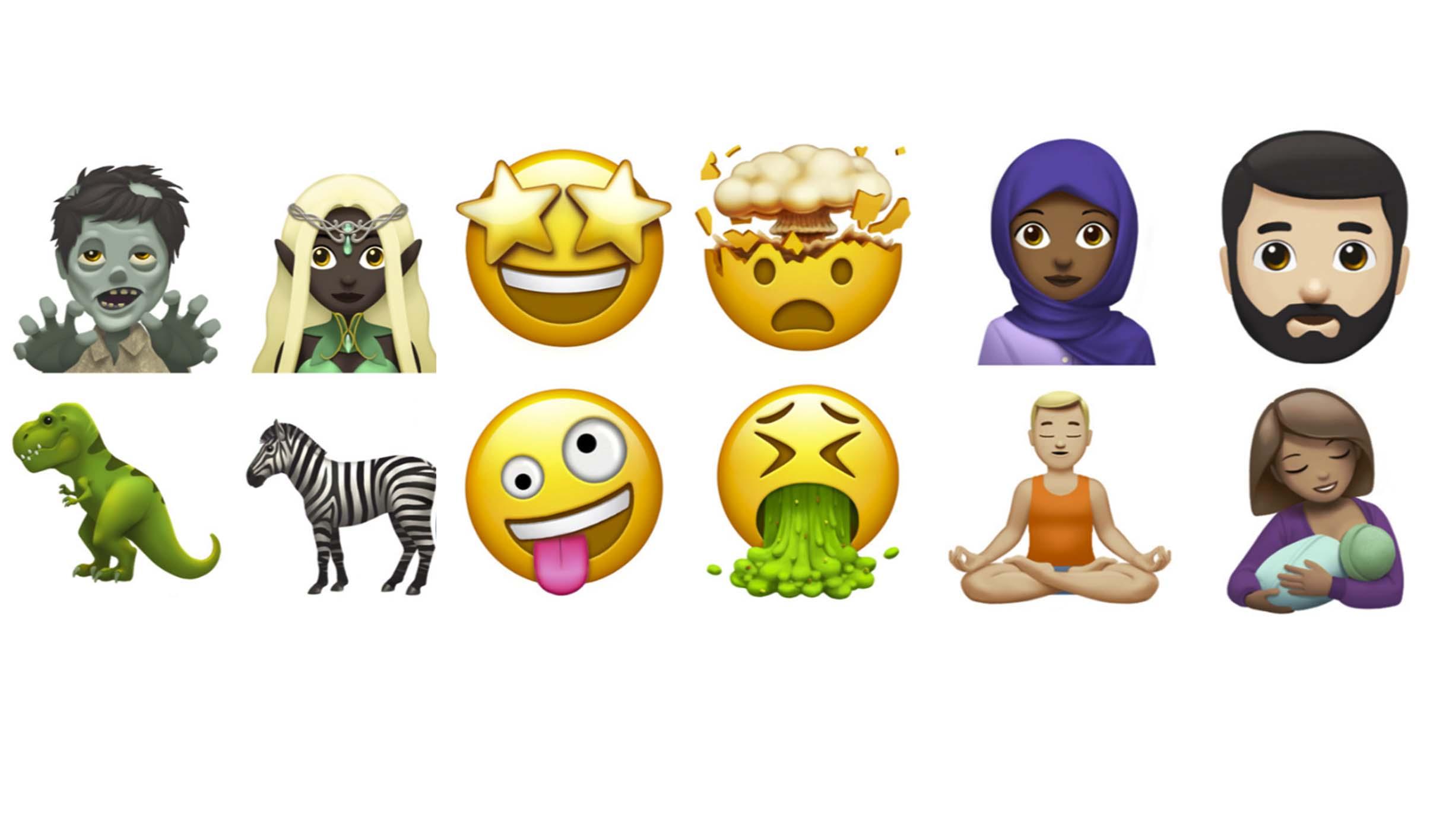 Nuevos emoji 2017