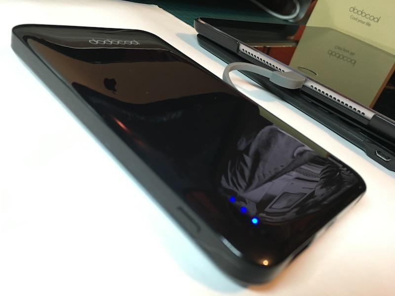 Batería externa dodocool con iPad Air 2