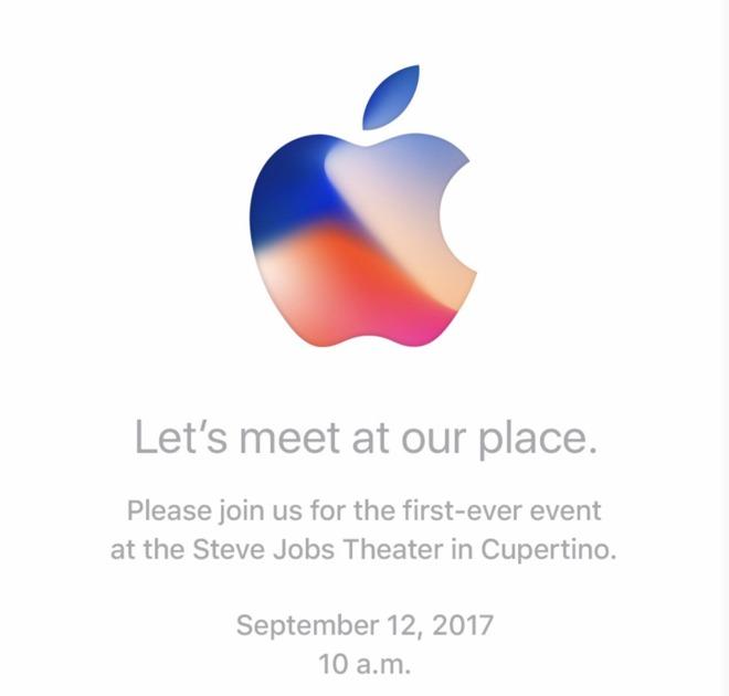 Keynote de septiembre iPhone 8