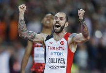 Ramil Guliyev Apple Watch Nike+