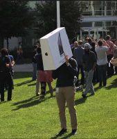 eclipse en el Apple Campus One Infinite Loop