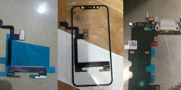 Filtraciones de los componentes del iPhone 8