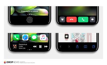 Posible area de función iPhone 8