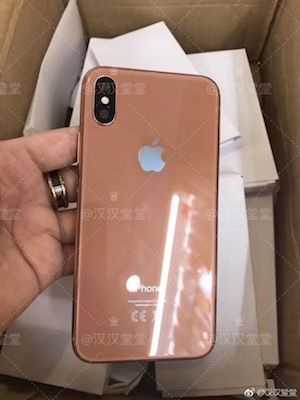Posible color rosa iPhone 8