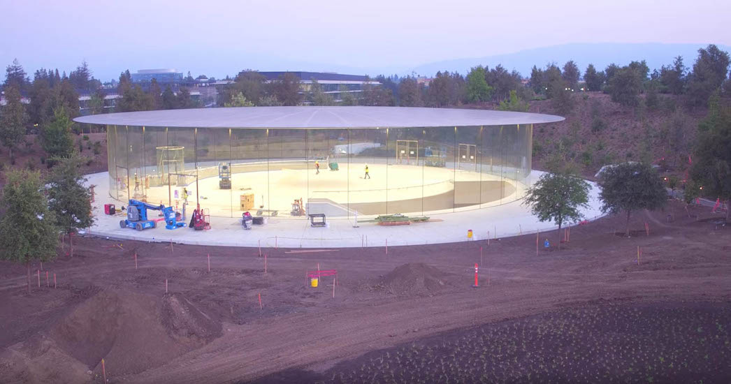 Steve Jobs Theater - agosto 2017