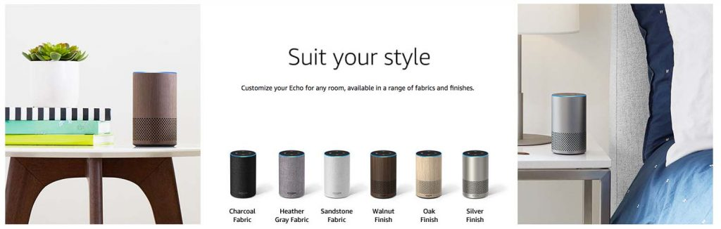 Modelos Amazon Echo