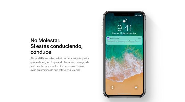 No molestar en iOS 11