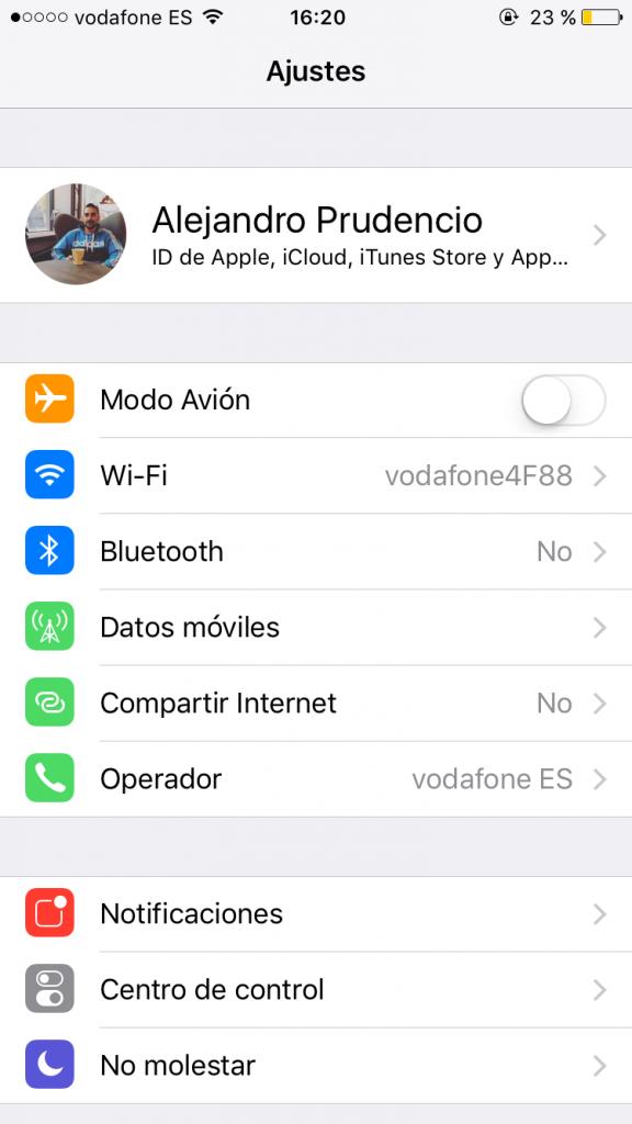 liberar espacio en tu iPhone