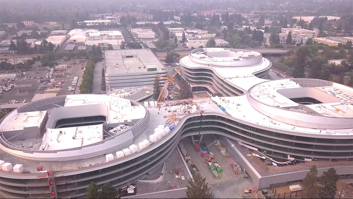 Evolución del Apple Campus 3