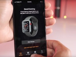 Apple Watch LTE en iOS 11 GM