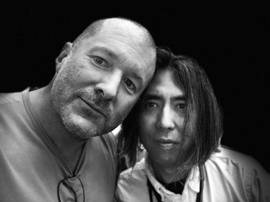 Jony Ive e Hiroshi Fujiwara