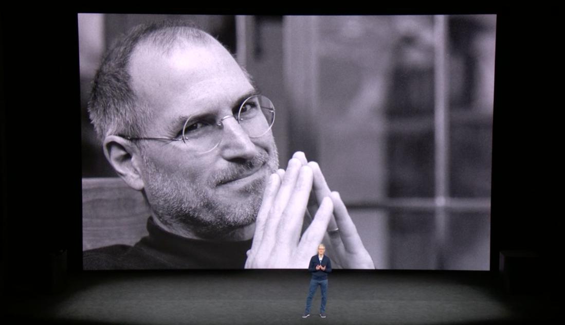 Steve Jobs en la keynote de 2017