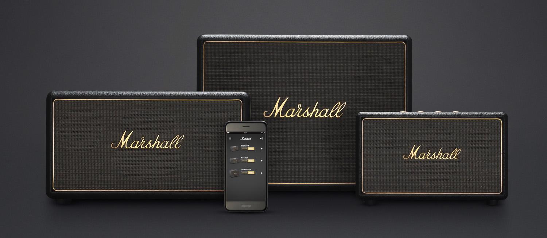 marshall altavoz multiroom