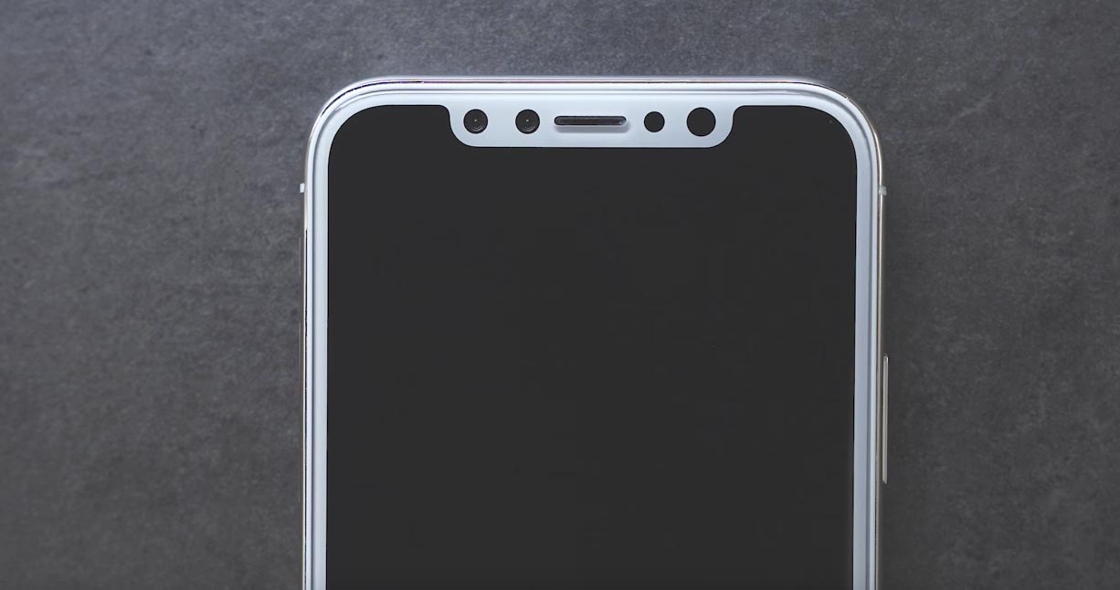 Rumor iPhone 8 Face ID