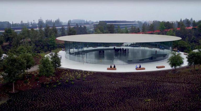 Steve Jobs Theater listo para la keynote