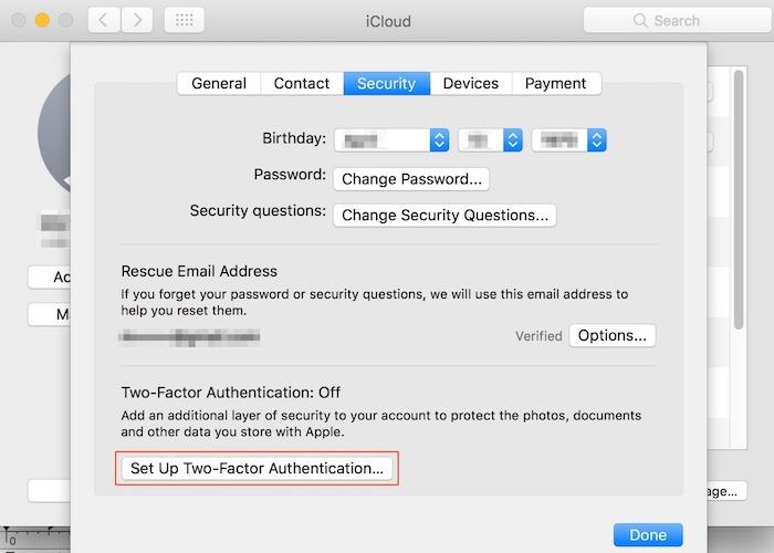 Desbloquear Mac con Apple Watch