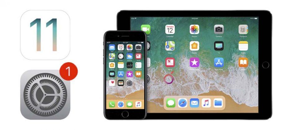 actualización iOS 11