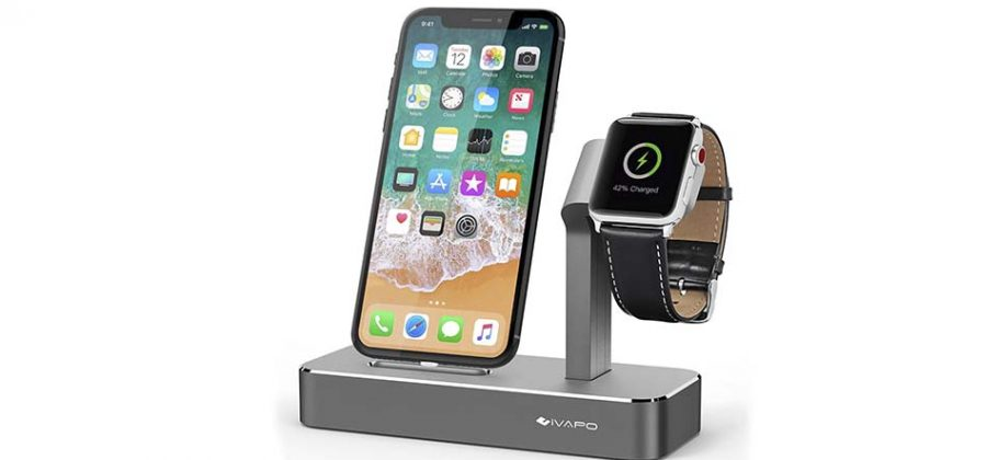 Review del soporte para Apple Watch y iPhone de iVAPO