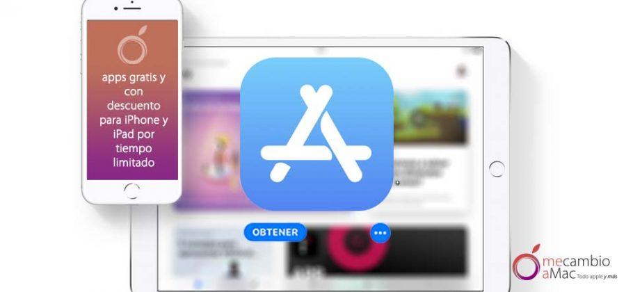 aplicaciones iOS gratis y con descuento