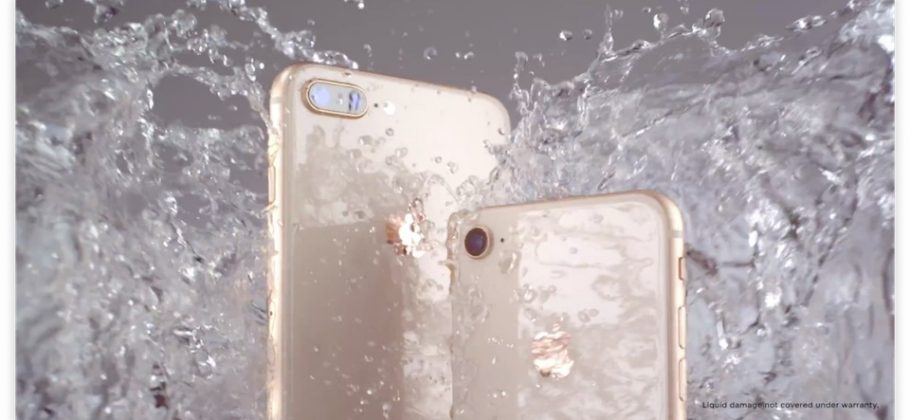 iPhone 8 - portada agua