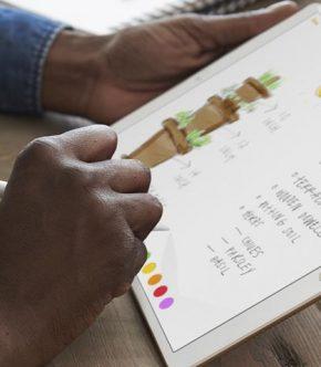 Apple Pencil y iPad Pro