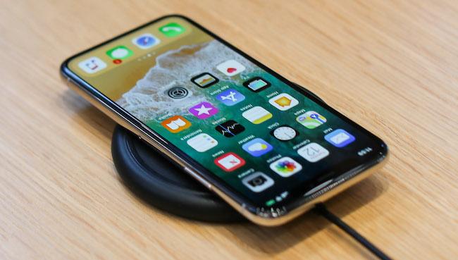 iPhone X funciones carga rapida