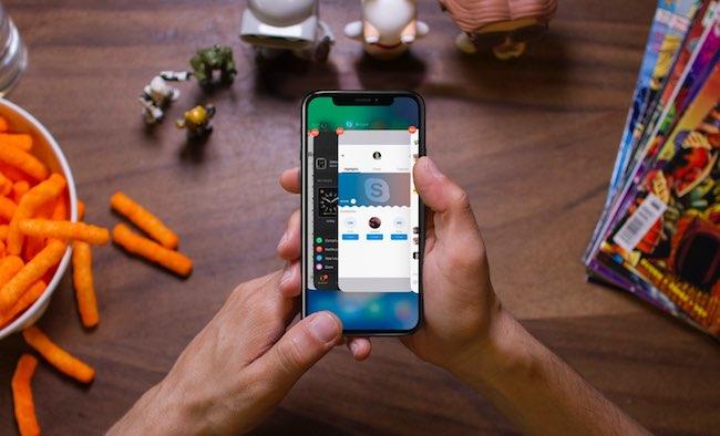 Forzar cierre aplicación iPhone x