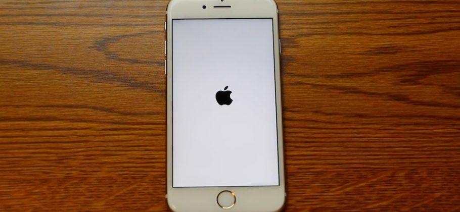 bug iPhone reinicio