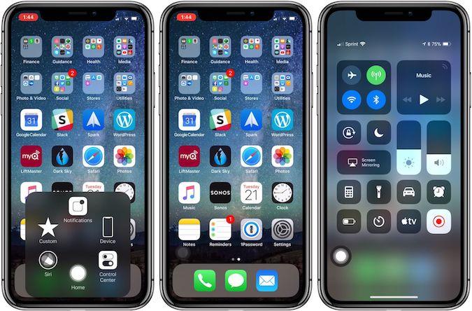 Crear accesos directos iPhone X