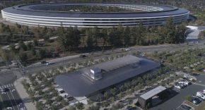 Evolución del Apple Park