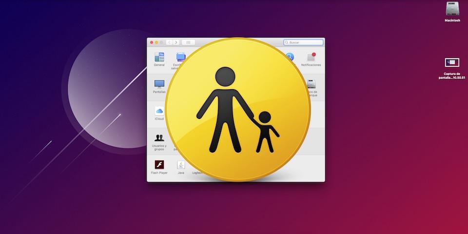 controles parentales de macOS