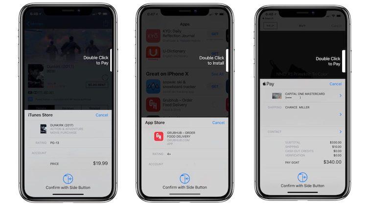iOS 11.3 simplifica pagos Face ID