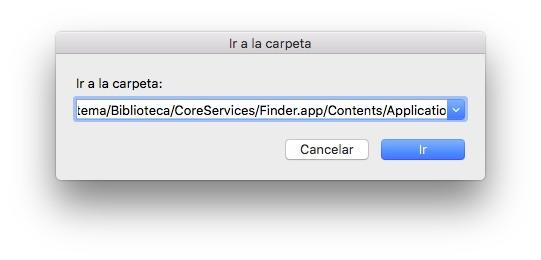 AirDrop icono dock en Mac 2