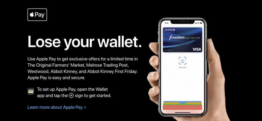 Apple Pay - Lose your wallet